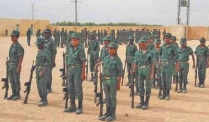 Le Polisario enrôle des enfants soldats