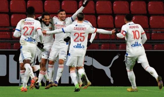 Ligue 1: Champion d'automne, Lyon a ressorti ses griffes