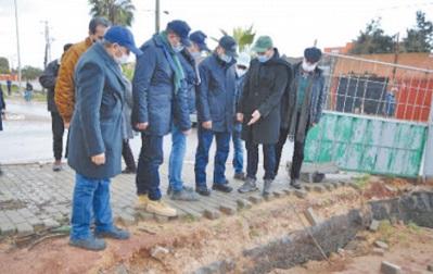 Le wali de Casablanca-Settat visite plusieurs zones impactées par la pluie