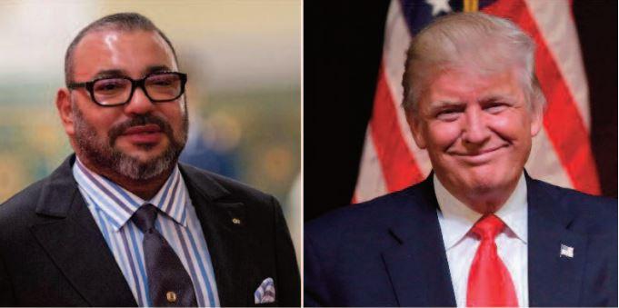 Donald Trump décerne la Légion du mérite à S.M le Roi