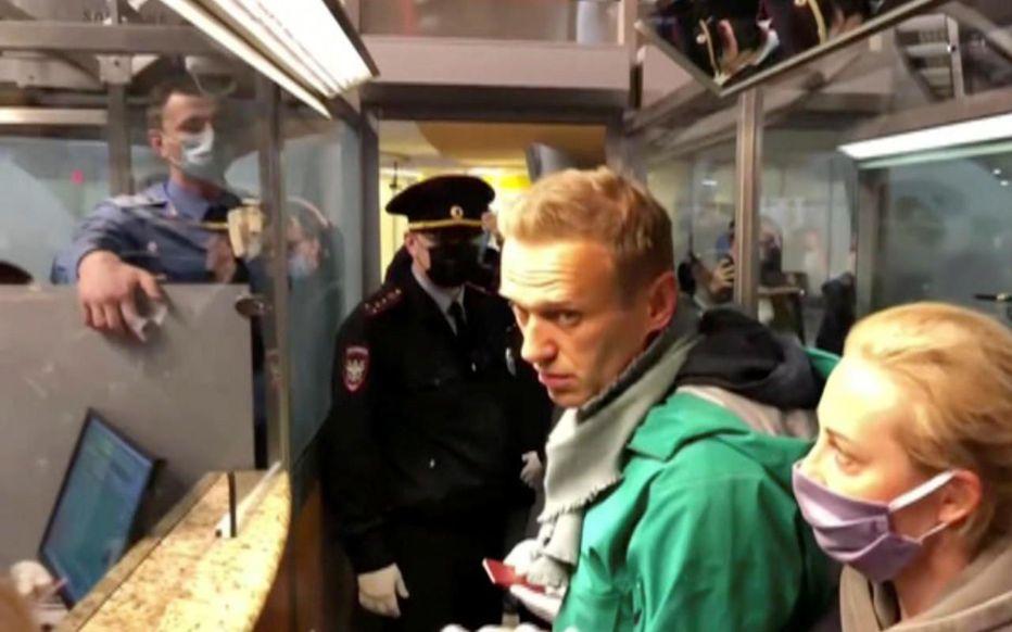 "Berlin demande la ""libération immédiate "" de l'opposant Navalny"