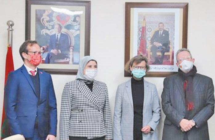 L'ambassadrice de l'UE loue la stratégie marocaine en matière de lutte contre la violence à l'égard des femmes