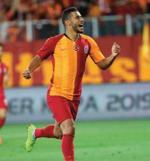 Belhanda, buteur et passeur avec Galatasaray