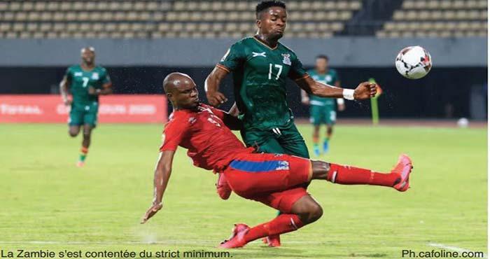 Le Onze national hérite de la Zambie en quart de finale du CHAN