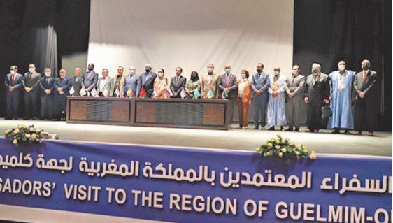 Des ambassadeurs accrédités à Rabat s'informent des atouts de Guelmim-Oued Noun
