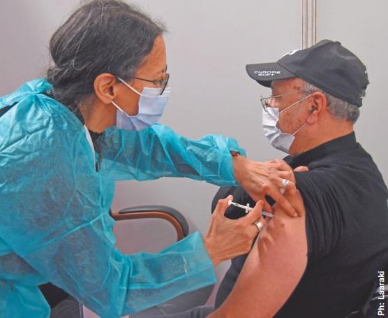 Plus de 90.000 personnes vaccinées en trois jours