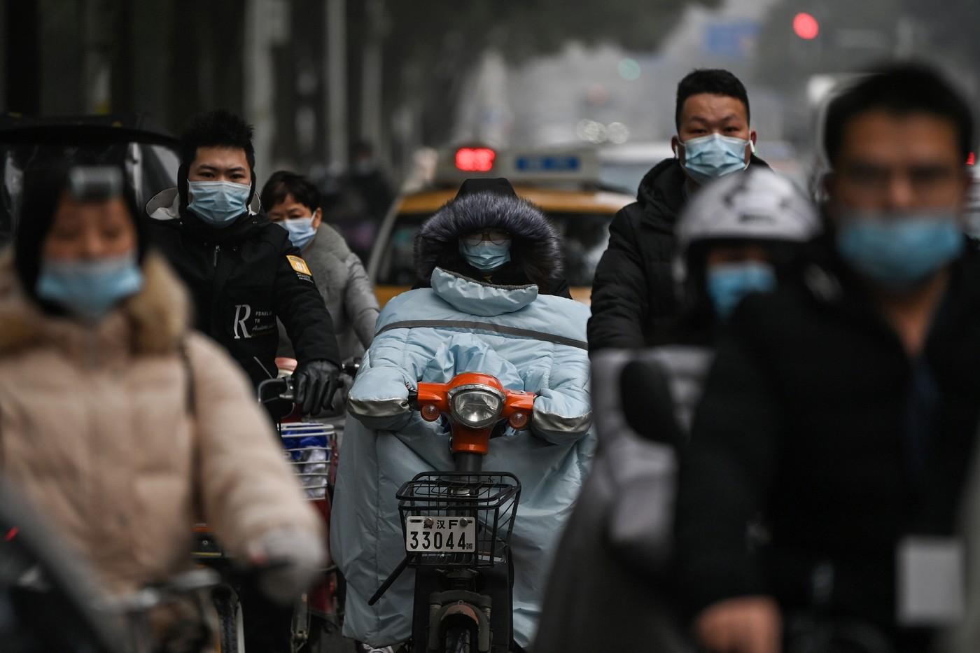Les enquêteurs de l'OMS à Wuhan