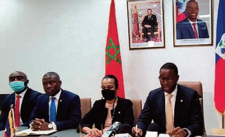 Une délégation haïtienne à Dakhla pour examiner les moyens de renforcer la coopération bilatérale