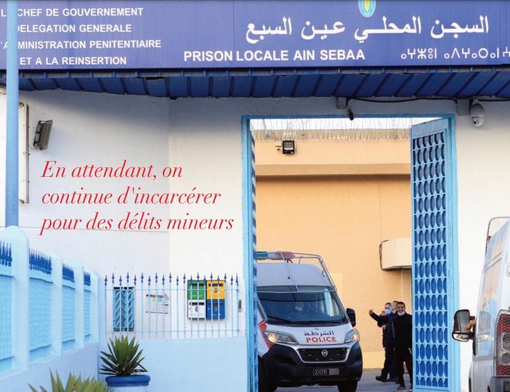 Les pénitenciers marocains n'en peuvent plus. Les détenus non plus