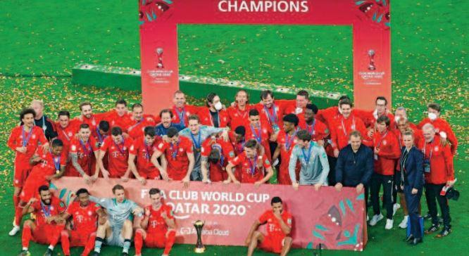 Le Bayern s ' adjuge le Mondial des clubs