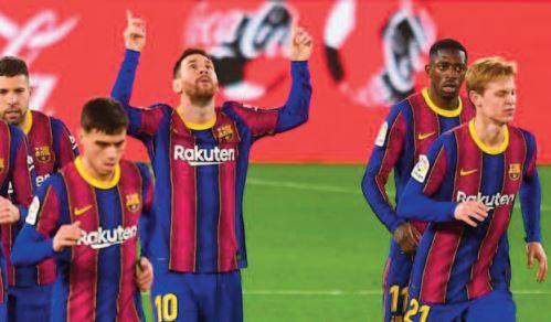 Liga: Le Barça déroule à trois jours du choc contre le PSG