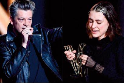 Benjamin Biolay et Pomme remportent les Victoires de la musique