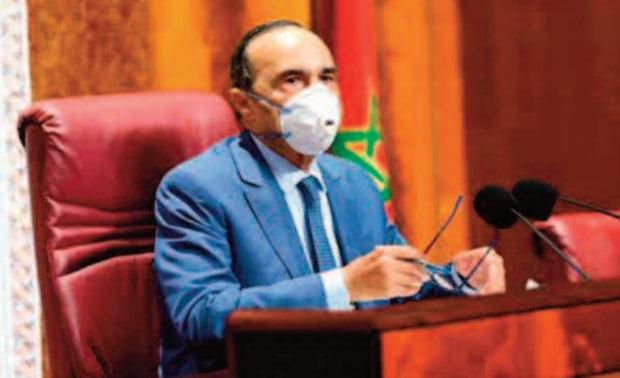 Entretien entre Habib El Malki et une délégation du Front national pour la sauvegarde de la SAMIR