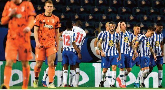 La Juve de Ronaldo battue à Porto