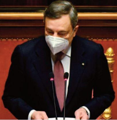 """Draghi veut """" reconstruire """" l'Italie mise à genoux par la pandémie"""