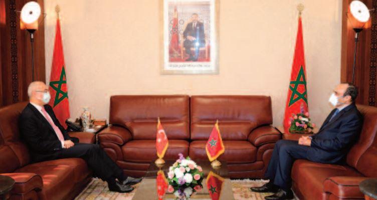 Habib El Malki s'entretient avec Ahmet Aydin Dogan