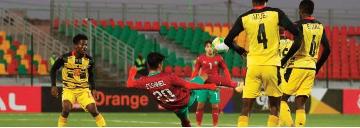 CAN U20 : Nul blanc entre le Onze national et le Ghana