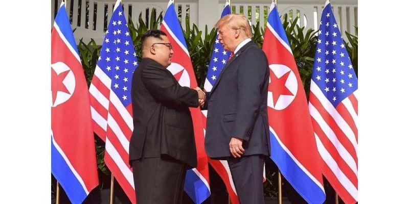 """Trump a """" offert à Kim un vol retour sur Air Force One """""""
