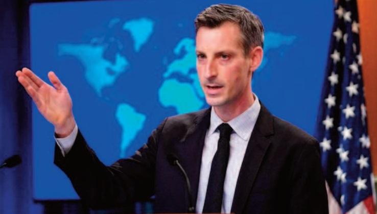 """Washington """" continue à soutenir le processus de l'ONU pour une solution juste et durable au différend de longue date au Maroc """""""