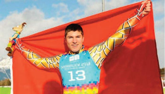 Adam Lamhamedi, médaillé d'or aux JOJ. C'était en 2012