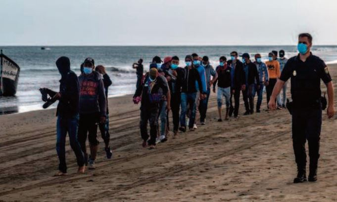 Reportage: La crise liée à la pandémie a débouché sur un nouveau profil de migrants irréguliers