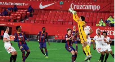 Le Barça surclasse Séville et continue sa belle série en Liga