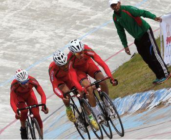 Participation du Maroc au Championnat d'Afrique de cyclisme en Egypte