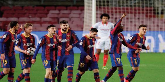 Le Barça réussit sa remontada contre Séville