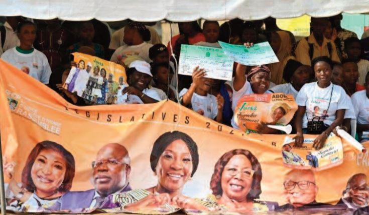 Législatives ouvertes en Côte d'Ivoire pour oublier une présidentielle contestée