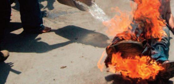 Un Algérien se tue en s'immolant par le feu dans l' ouest du pays