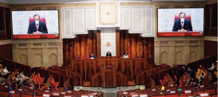 Habib El Malki met l'accent sur la maturité institutionnelle qui a prévalu au cours des débats parlementaires