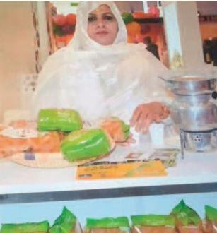 Fatma El Ghalia Charradi, la férue du théâtre et de l' action associative