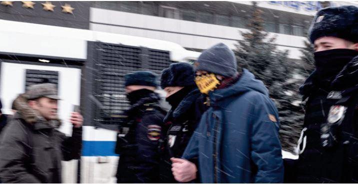 Environ 200 personnes arrêtées durant un forum d' opposition en Russie
