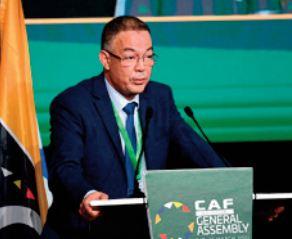 Fouzi Lekjaa Le Maroc mérite son élection au conseil de la FIFA