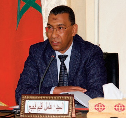 Le gouverneur de la province de Figuig préside une réunion consacrée à Al-Arja