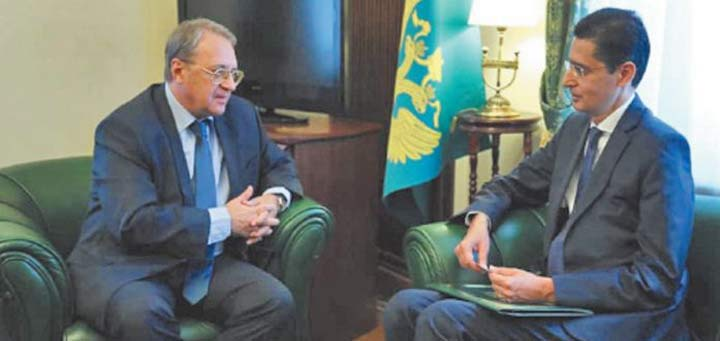 Echanges maroco-russes sur l' ordre du jour du Conseil de sécurité