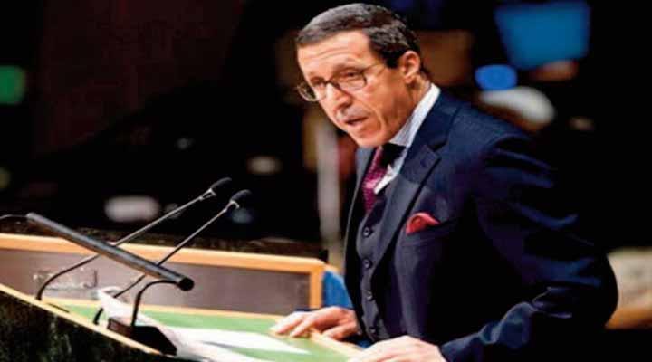 Omar Hilale, représentant permanent du Maroc aux Nations unies