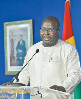 Message du président guinéen à S.M le Roi