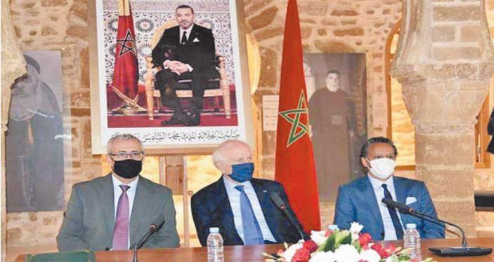 Signature d' un partenariat entre le ministère de la Justice et le Centre Abraham Zagouri