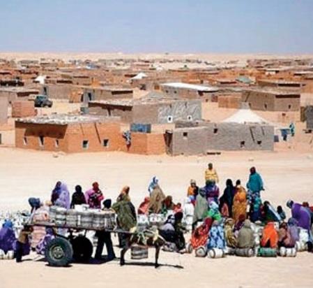 Imposantes manifestations dans les camps de Tindouf