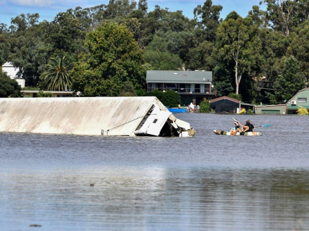 En Australie, la pluie a cessé mais des milliers de personnes demeurent isolées