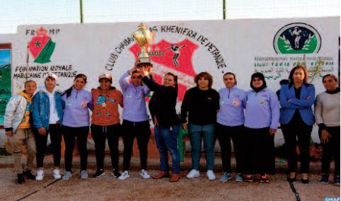 Le CAK célèbre le sacre de la triplette championne du Maroc de pétanque