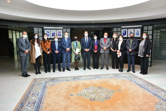Installation des membres de la Commission du Fonds d'aide à la production cinématographique nationale