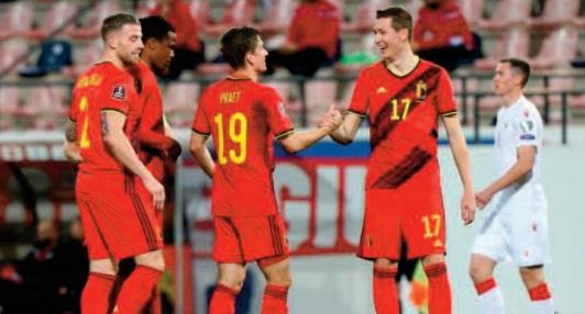 Mondial 2022: Carton plein de la Belgique et des Pays-Bas