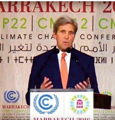 John Kerry salue l' engagement Royal en faveur de la lutte contre le changement climatique