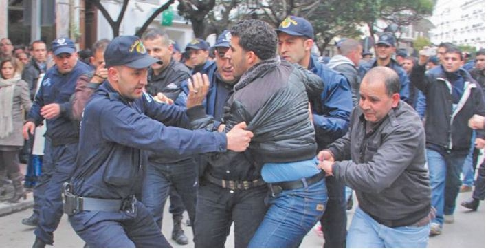 Une dizaine d'arrestations après une tentative de marche à Alger