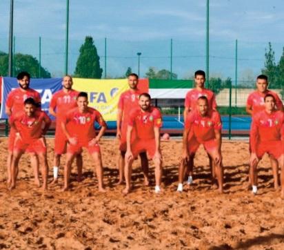 L'EN de beach-soccer en stage de préparation au Sénégal