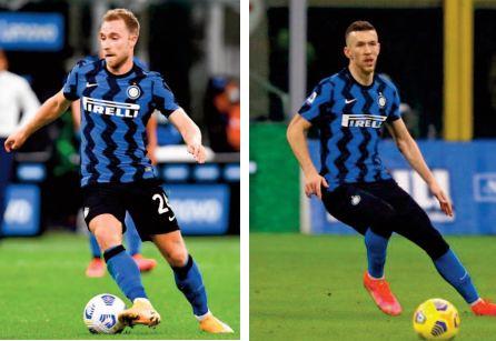 A l'Inter Milan, le printemps inattendu d'Eriksen et Perisic