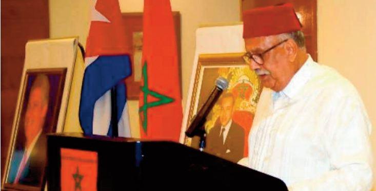 S.M le Roi Mohammed VI exprime sa détermination à renforcer les relations entre les deux pays et à œuvrer pour le développement constant des liens d' amitié entre Rabat et La Havane