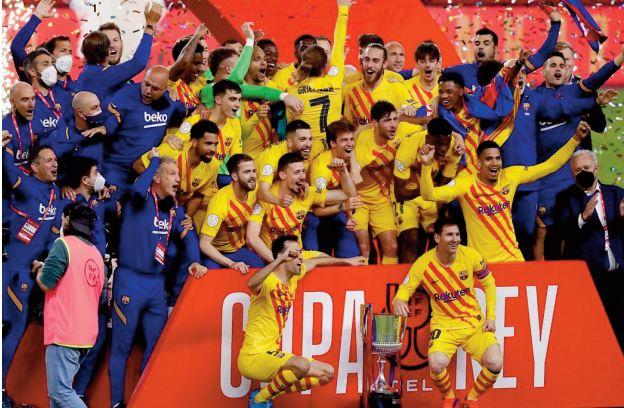 Coupe d'Espagne. Griezmann et Messi offrent son 31ème sacre au Barça